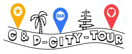 """C&D CITY TOUR - C&D City Tour, partagez la passion du voyage fait """"main"""", avec des idées de parcours, d'itinéraires de ville et de bons plans à découvrir…"""