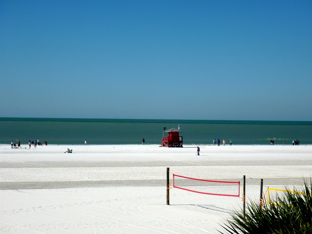 Siesta Beach and Honeymoon Island