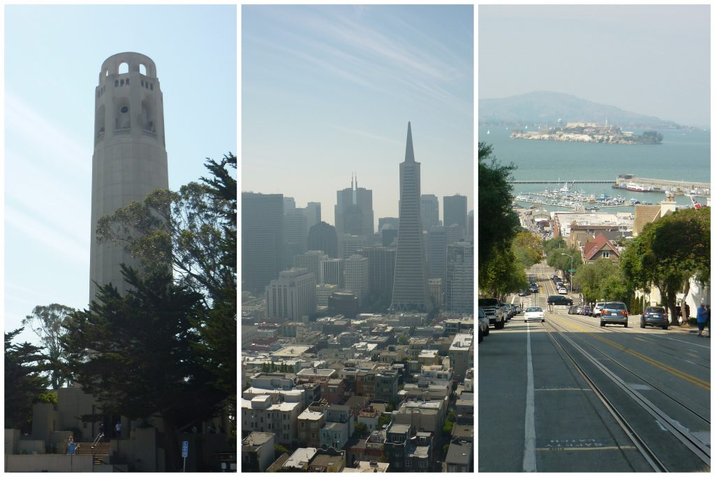 Lombard Street & Coit Tower