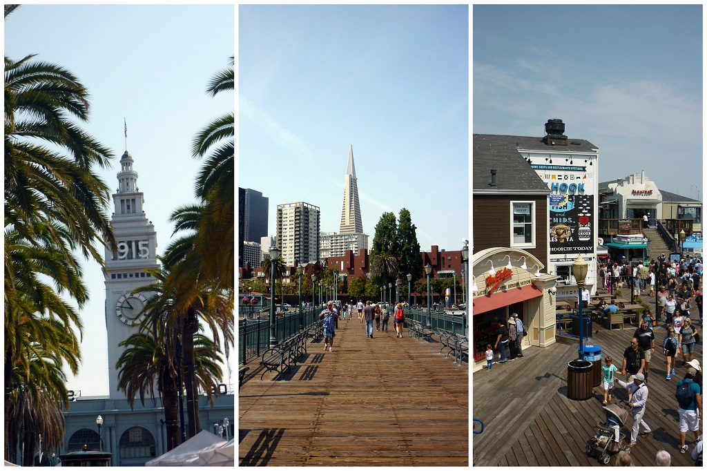 Ferry Building Marketplace & Pier 39