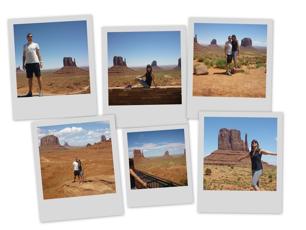 Polaroid Monument Valley