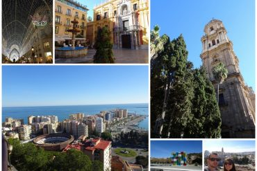 Vue de la ville de Malaga