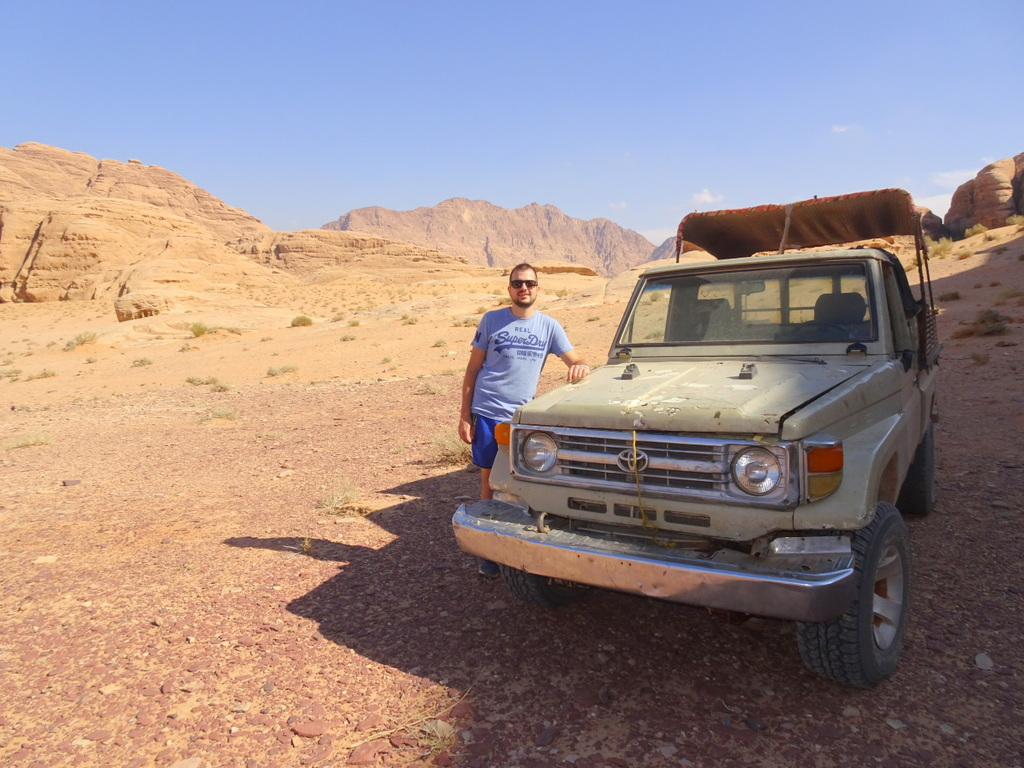 treck desert jordanie